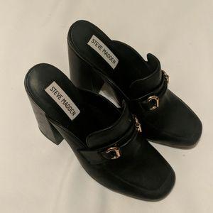 Steve Madden heel loafers